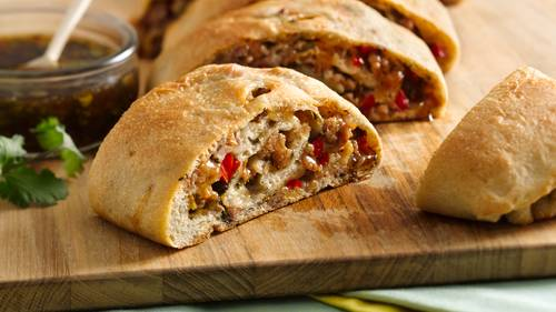 Spicy and Sweet Jamaican Jerk Roll Up