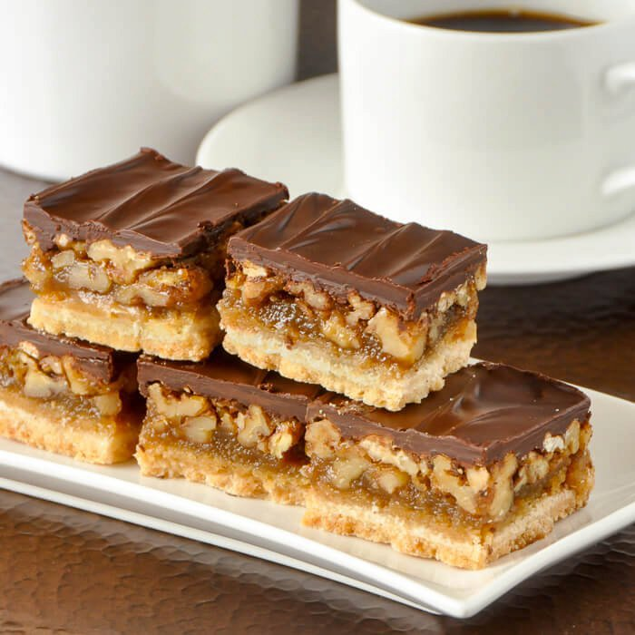 Chocolate Pecan Bars